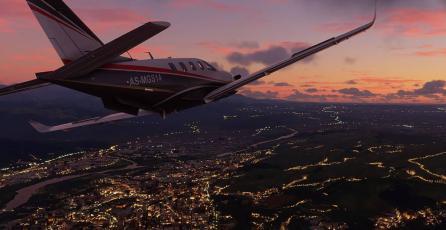 <em>Flight Simulator</em>: vuela sobre el campo que inspiró el fondo de Windows XP