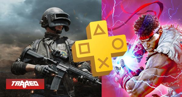 "JUEGOS ""GRATIS"": Descarga Street Fighter V y PUBG con PlayStation Plus"