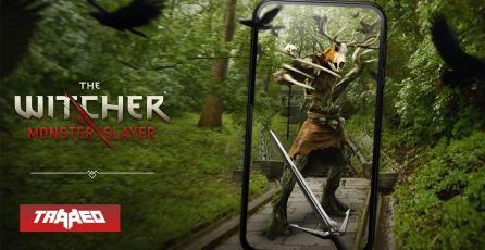 Se viene The Witcher: Monster Slayer al estilo de Pokémon Go