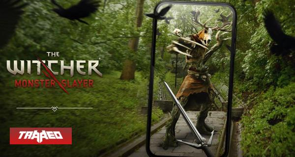 Se viene The Witcher: Monster Slayer al estilo de Pokémon Go