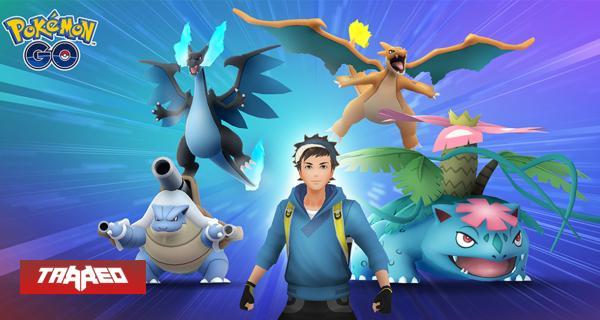 Llegaron las megaevoluciones a Pokémon GO