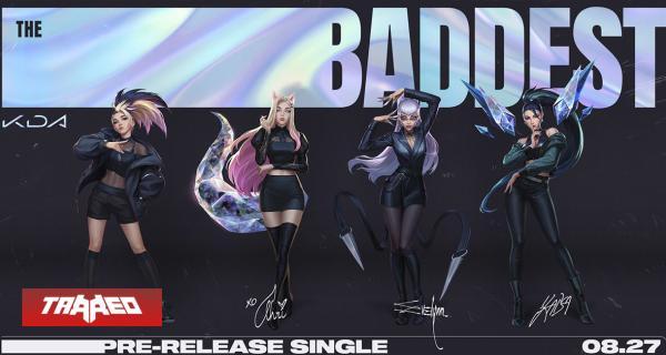 """K/DA estrenó su nuevo single """"THE BADDEST"""" y se viene nuevo EP"""