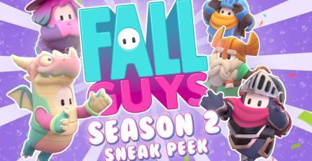 Adelanto segunda temporada de Fall Guys