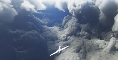 Jugadores de <em>Microsoft Flight Simulator</em> volaron dentro del huracán Laura