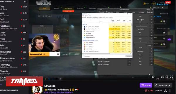Insolito: Streamer de Call of Duty: Warzone es sorprendido usando hacks en stream