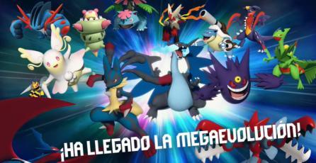 Pokémon GO -  Tráiler Lanzamiento Megaevolución