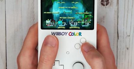 Transforman un Wii en una impresionante portátil que se parece a un Game Boy