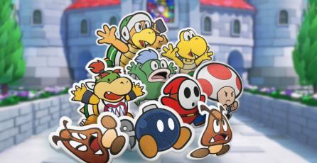 Equipo de <em>Paper Mario</em> dice tener control creativo casi total de los juegos