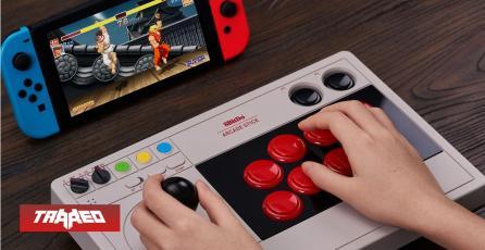 Toma mi dinero: Anuncian joystick arcade para Nintendo Switch y PC