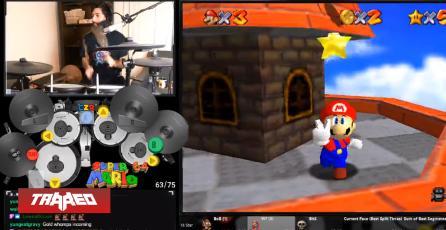 Logran pasar Super Mario 64 jugando con una batería