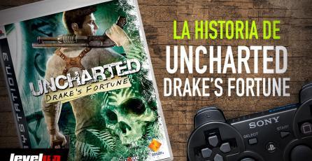 La historia detrás de: <em>UNCHARTED: Drake's Fortune</em>