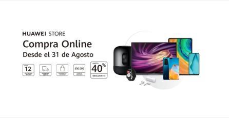 Huawei abre su tienda virtual en Chile con grandes descuentos