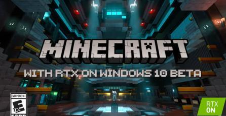 Minecraft - Tráiler RTX