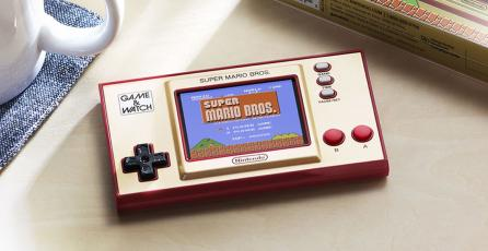 El Game & Watch volverá con una edición especial de <em>Super Mario Bros.</em>
