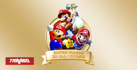 Super Mario 3D All-Stars para Nintendo Switch con Super Mario 64, Sunshine y Galaxy