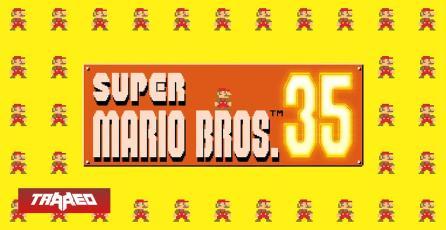 """Vuelve el clásico Super Mario Bros pero ahora en """"Battle Royale"""" de 35 jugadores simultáneos"""