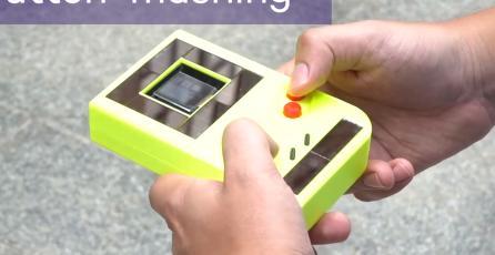 Crean un Game Boy que puede correr sin pilas o sin estar conectado a la corriente