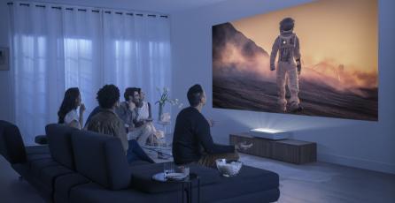 The premiere, el nuevo proyector láser ultra color de Samsung