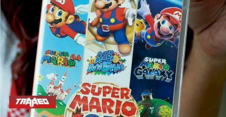 El segundo juego mas vendido del año en Amazon es Super Mario Bros 3D All Stars