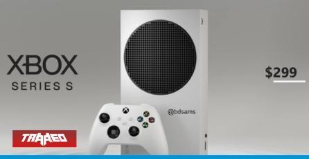 Se ha revelado apariencia y posible precio de la Xbox Series S