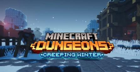 Minecraft Dungeons - Tráiler Lanzamiento DLC: Creeping Winter