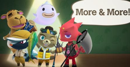 "Animal Crossing: New Horizons - Tráiler ""Who's Who"""