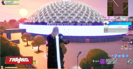 Crean mapa a escala real del Movistar Arena en Fortnite para competir por grandes premios