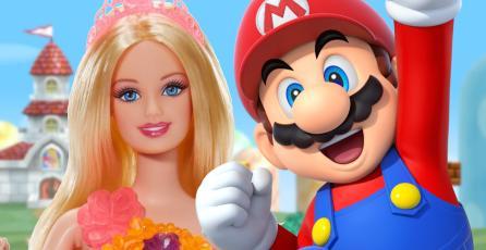 Fabulosas colecciones de Barbie inspiradas en <em>Mario</em> están en camino