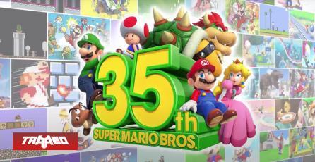 Se cumplen 35 años desde que se lanzó Super Mario Bros.