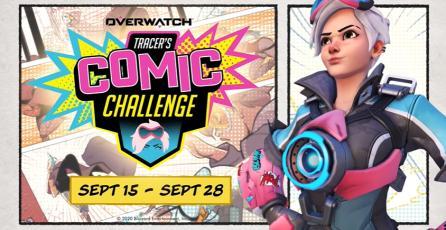 "Overwatch - Tráiler de Evento ""Tracer's Comic Challenge"""