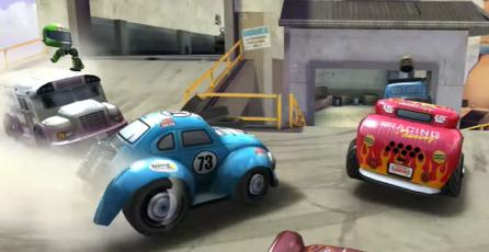 Mini Motor Racing X - Tráiler de Lanzamiento   Nintendo Switch