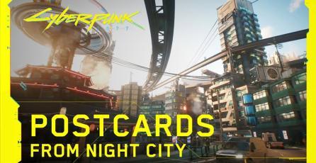 <em>Cyberpunk 2077</em> - Postales de Night City