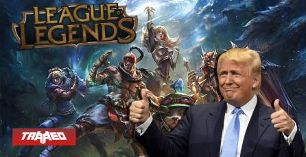 Trump está mirando a Fortnite y League of Legends Studios después de las prohibiciones de TikTok y WeChat