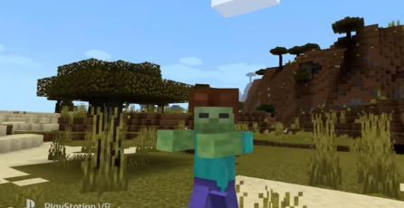 Minecraft - Tráiler Lanzamiento Soporte para VR