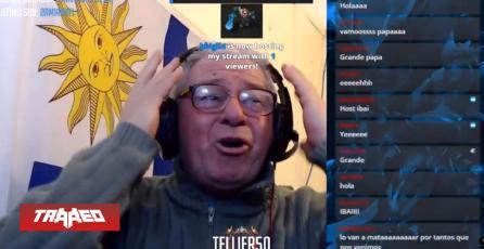 Ibai hostea a abuelo streamer en Twitch y lo emociona hasta las lágrimas