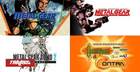 Ya están disponibles Metal Gear, Metal Gear Solid y Metal Gear Solid 2 en PC