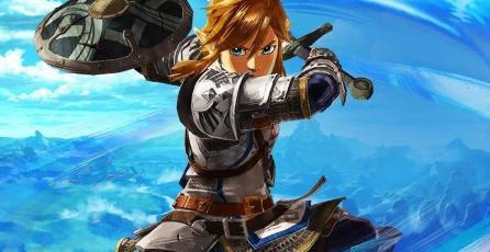 <em>Hyrule Warriors: Age of Calamity</em> muestra a Impa y Link en un gameplay
