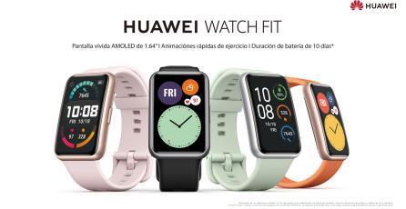 El nuevo WatchFit de Huawei llega a Chile