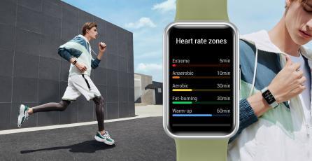 Acá tienes unos ejercicios para trabajar con los nuevos Huawei WatchFit