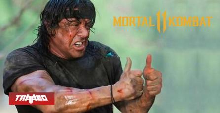 Filtración afirma que Rambo llegaría a Mortal Kombat 11