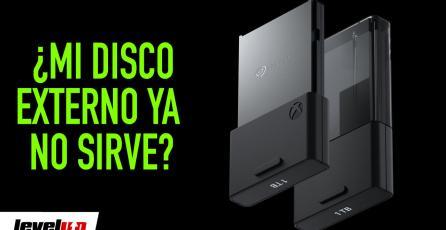 Guardar juegos en Xbox Series X - ¿Mi disco externo ya no sirve?
