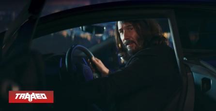 Keanu Reeves es el protagonista del nuevo comercial de Cyberpunk 2077