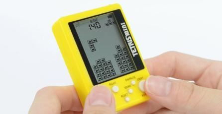 Podrás jugar <em>Tetris</em> en cualquier lugar con esta nueva miniconsola