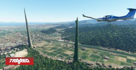 """Bug de Microsoft Flight Simulator crea peligrosos """"Picos de la muerte"""" en Japón"""