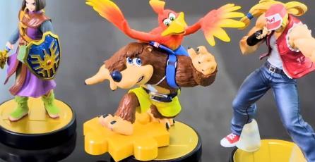 Banjo-Kazooie y otros personajes de <em>Super Smash Bros.</em> tendrán amiibo