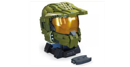 <em>Halo</em>: arma un casco del Master Chief con este set de Mega Construx