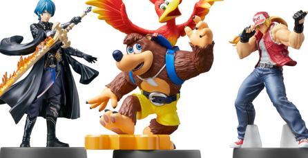 Los nuevos amiibo de <em>Super Smash Bros.</em> llegarían hasta finales de 2021