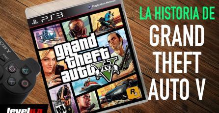 La historia detrás de: <em>Grand Theft Auto V</em>