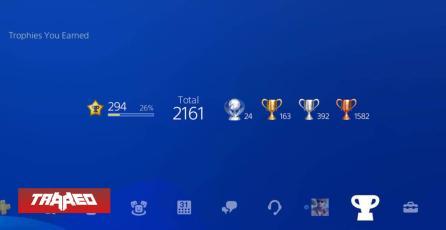 PlayStation cambiará hoy el sistema de trofeos