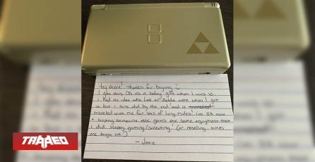 Compró Nintendo DS usada y venía con una adorable nota de su ex-dueña